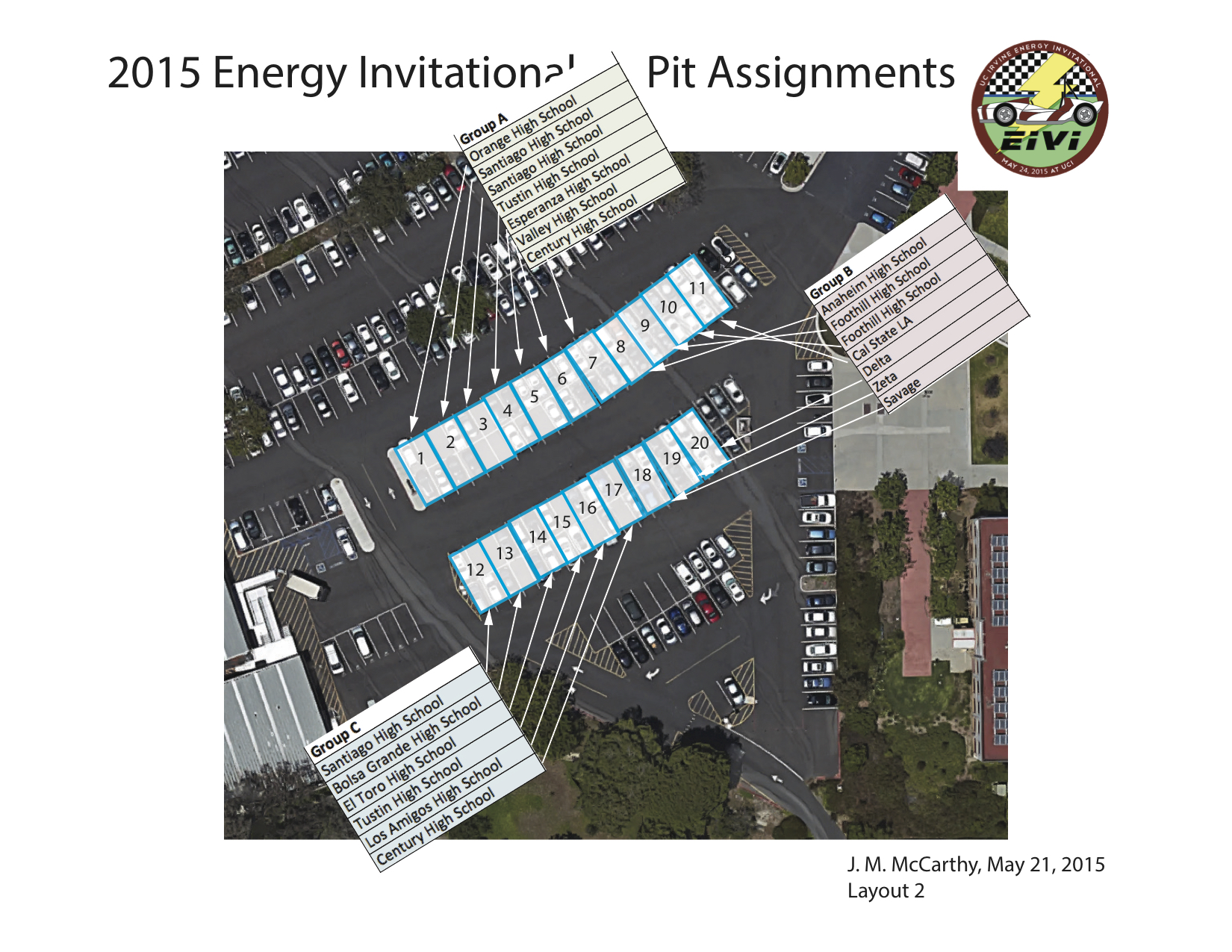 2015 Energy Invitational Layout 2 pits