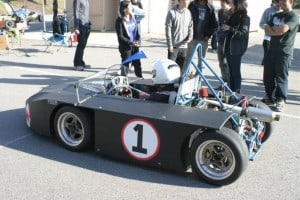 UCI Delta CNG-Electric Racecar