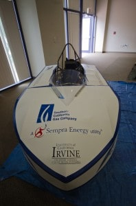 Delta CNG vehicle