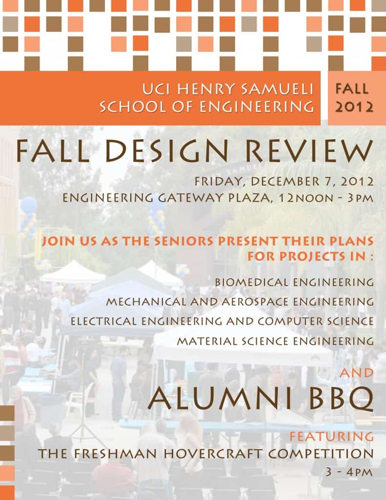 2012 Fall Design Review