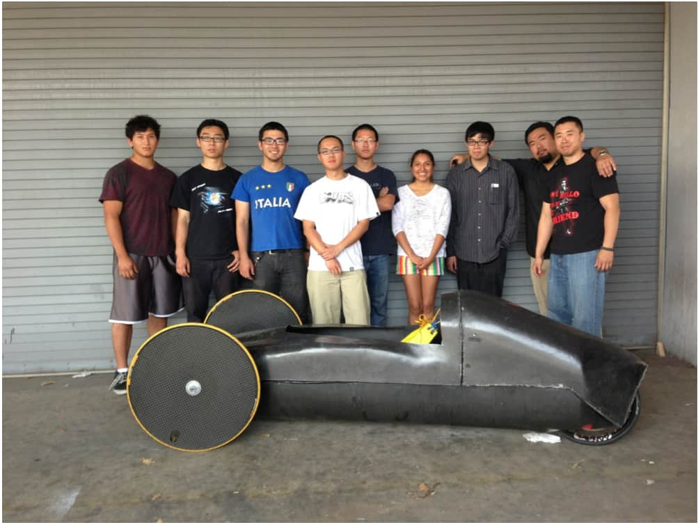 CSULA supermileage race team
