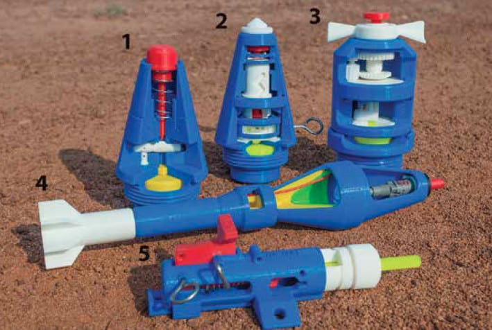 Demining Training Aids