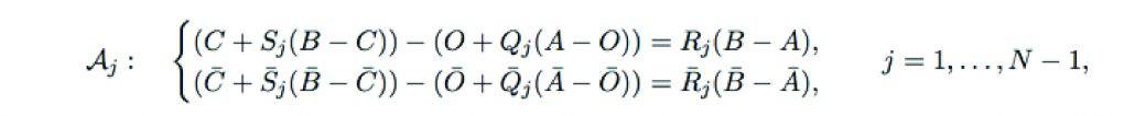 Four-bar Loop Equations