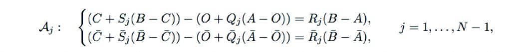 Four-bar Loop Equations