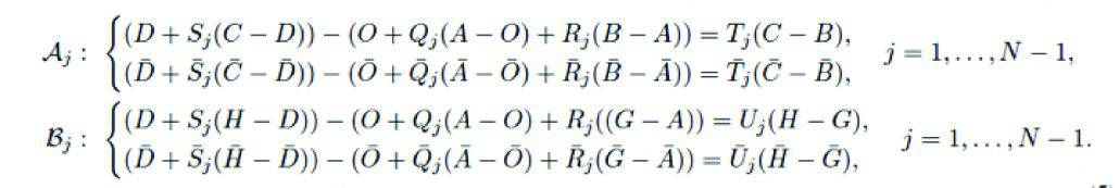 Six-bar Loop Equations