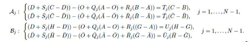 Six-bar Loop Equations