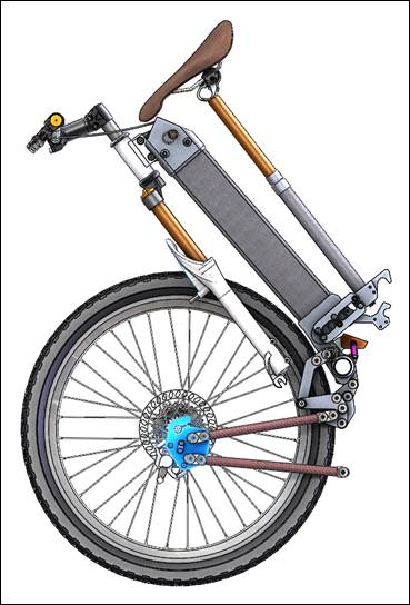 Zennen Folding Bike
