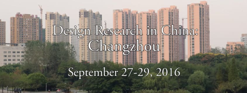 Design Research Changzhou