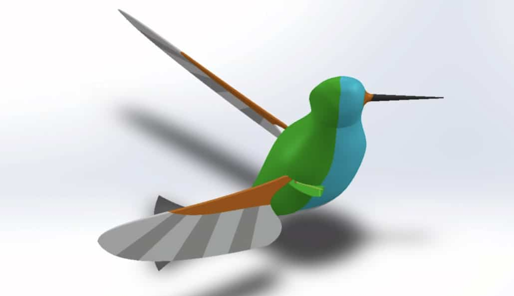 Flapping wing mechanism