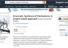 Kinematic Synthesis of Mechanisms