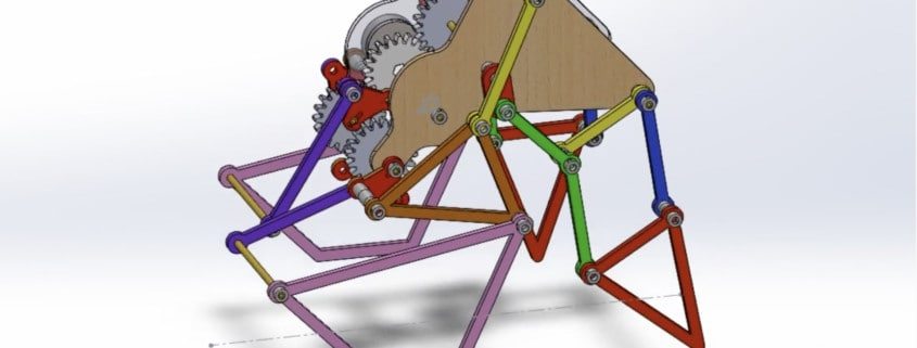 Mechanical Walker designed by Team 6